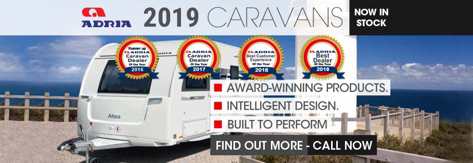New 2019 Adria Caravans
