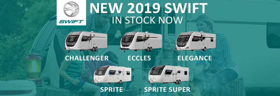 New 2019 Swift Caravans