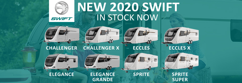 New 2020 Swift Caravans