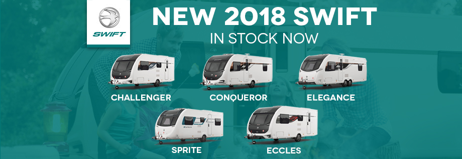 New 2018 Swift Caravans