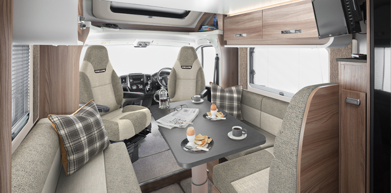 Motorhomes and VW Campers Internal