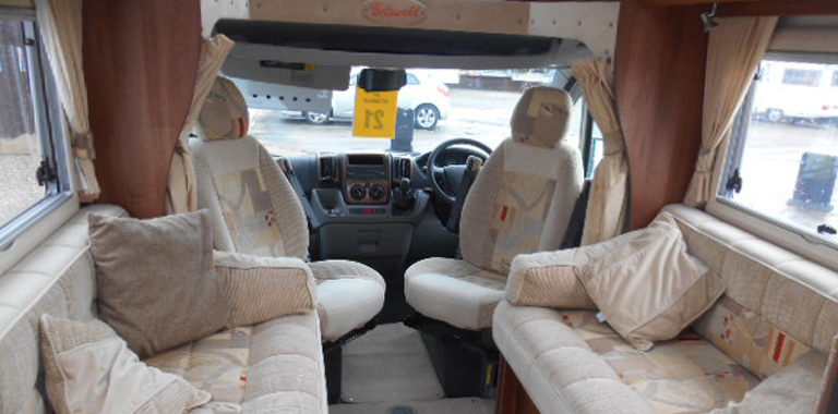 View all our used motorhomes Internal