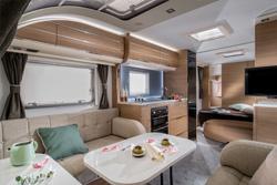The 2018 Adria Adora caravan thumbnail