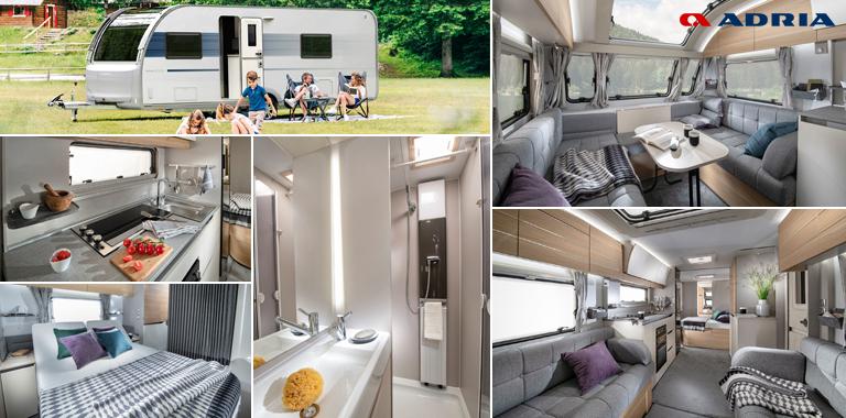 The 2021 Adria Adora caravan thumbnail